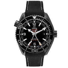 Omega Planet Ocean Deep Black Ceramic GMT Watch