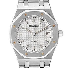 Audemars Piguet Royal Oak White Dial Steel Mens Watch 14790ST