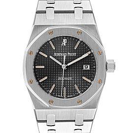 Audemars Piguet Royal Oak Gray Dial Steel Mens Watch 15000ST