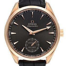 Omega Seamaster Aqua Terra XXL Rose Gold Watch 231.53.49.10.06.001