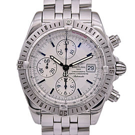 BREITLING Stainless Steel/Stainless Steel Chronomat Watch