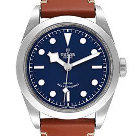 Tudor Heritage Black Bay 41 Blue Dial Stainless Steel Mens Watch 79540
