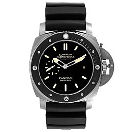 Panerai Luminor Submersible 1950 Titanium Amagnetic Watch PAM00389 Box Card