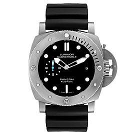 Panerai Submersible Titanio 1959 3 Days 47mm Mens Watch PAM01305
