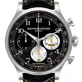 Baume Mercier Capeland Shelby Cobra 44mm Limited Steel Mens Watch 65798