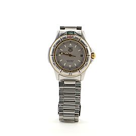 TAG Heuer 4000 Automatic Watch Stainless Steel with Plated Metal 37