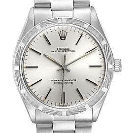 Rolex Oyster Perpetual Stainless Steel Vintage Mens Watch 1007