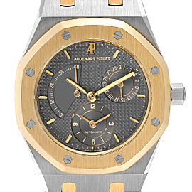 Audemars Piguet Royal Oak Steel Yellow Gold Mens Watch 25730 Box Papers