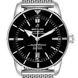 Breitling Superocean Heritage 46 Black Dial Mens Watch AB2020