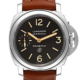 Panerai Luminor Acciaio Logo Tropical Brown Dial 44mm Watch PAM00632