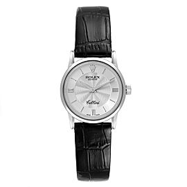 Rolex Cellini Classic White Gold Silver Dial Ladies Watch