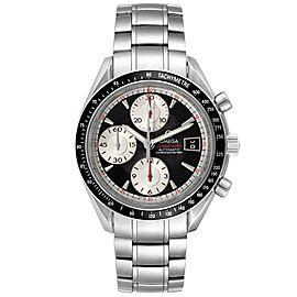 Omega Speedmaster Date 40 Black Dial Mens Watch 3210.51.00 Card