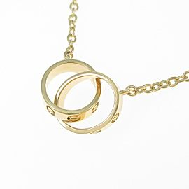Cartier yellow Gold Baby Love Necklace