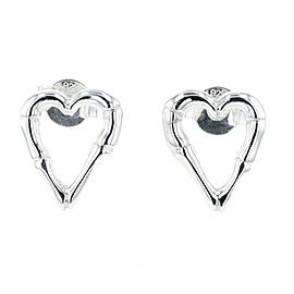 GUCCI Silver925 Bamboo heart Pierce TBRK-410