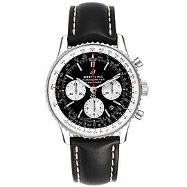 Breitling Navitimer 01 Black Dial Steel Mens Watch AB0121