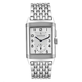 Jaeger LeCoultre Reverso Duoface Day Night Midsize Watch 272.8.54 Q2458420