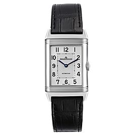 Jaeger LeCoultre Reverso Classic Silver Dial Mens Watch Q3828420
