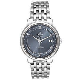 Omega DeVille Prestige Blue Dial Mens Watch 424.10.40.20.03.002
