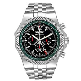 Breitling Bentley GMT Limited Edition Steel Mens Watch A47362