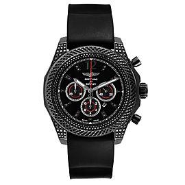 Breitling Bentley Barnato Black Dial Diamond Mens Watch M41390