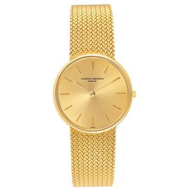 Vacheron Constantin Patrimony Yellow Gold Vintage Mens Watch 6872
