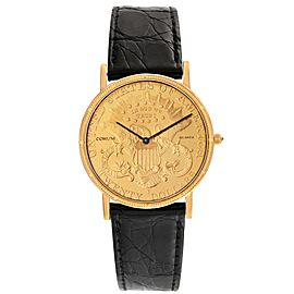 Corum 20 Dollars Double Eagle Yellow Gold Coin Year 1900
