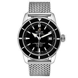 Breitling Superocean Heritage 42 Mesh Bracelet Mens Watch A17321