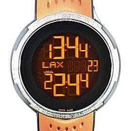 Gucci YA114103 Stainless Steel Quartz 49mm Mens Watch