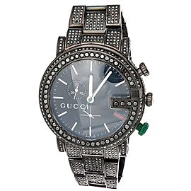 Gucci YA101331 Black PVD Stainless Steel Quartz 44mm Mens Watch