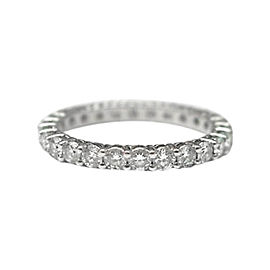 Tiffany & Co. Platinum Full Circle Diamond Eternity Band Ring