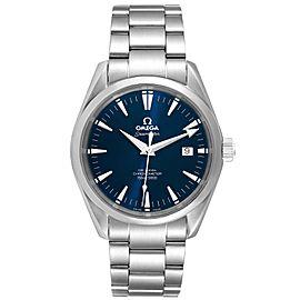 Omega Seamaster Aqua Terra Blue Dial Steel Mens Watch 2503.80.00