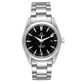 Omega Seamaster Aqua Terra 36 Black Dial Steel Mens Watch 2518.50.00