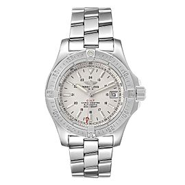 Breitling Colt Silver Dial Automatic Steel Mens Watch A17380