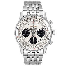 Breitling Navitimer Chronograph Panda Dial Steel Mens Watch A23322