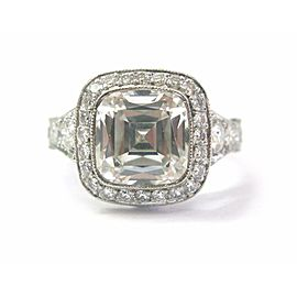 Tiffany & Co. Platinum Legacy Graduated Diamond Engagement Ring