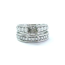 Scott Kay Platinum Diamond Wedding Mounting Ring
