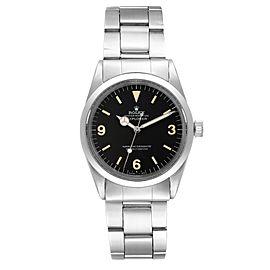 Rolex Explorer Automatic Steel Vintage Mens Watch