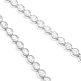Tiffany & Co Platinum Diamond Tennis Necklace