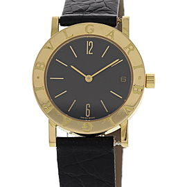 Bulgari BB 30 GL 18K Yellow Gold Ladies Watch
