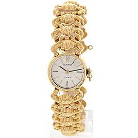 Duward 18K Rose Gold Hand Winding Vintage Ladies Watch