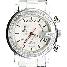 Gucci YA101339 Stainless Steel Quartz 44mm Mens Watch