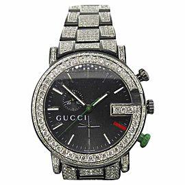 Gucci Ya101331 Stainless Steel Quartz 44mm Mens Watch