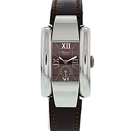 Chopard La Strada 8357 Stainless Steel & Leather Quartz 24mm Womens Watch