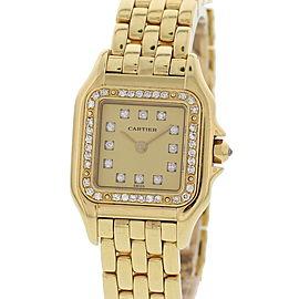 Cartier Panthere 8057915 18K Yellow Gold & Diamonds Quartz 22mm Womens Watch