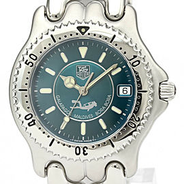 TAG HEUER Stainless Steel Sel Galapagos Maldives Bora Bora Watch HK-2402