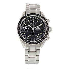 Omega Speedmaster 175.0084 Stainless Steel Black Dial Automatic 39mm Mens Watch
