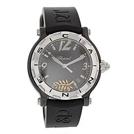 Chopard Happy Sport 28/8507 Ceramic & Rubber Quartz 38mm Womens Watch