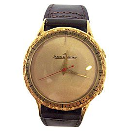 Jaeger-Lecoultre 18K Yellow Gold 37.2mm Mens Watch 1960s