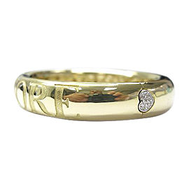 Pasquale Bruni Amore 18K Yellow Gold & Diamond Bangle Bracelet