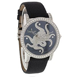 Corum Octopus 982.202.69 18K White Gold & Diamonds 42mm Unisex Watch